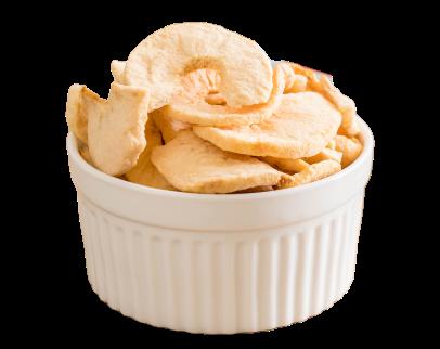 Chipsy jabłkowe- jakie kryją witaminy
