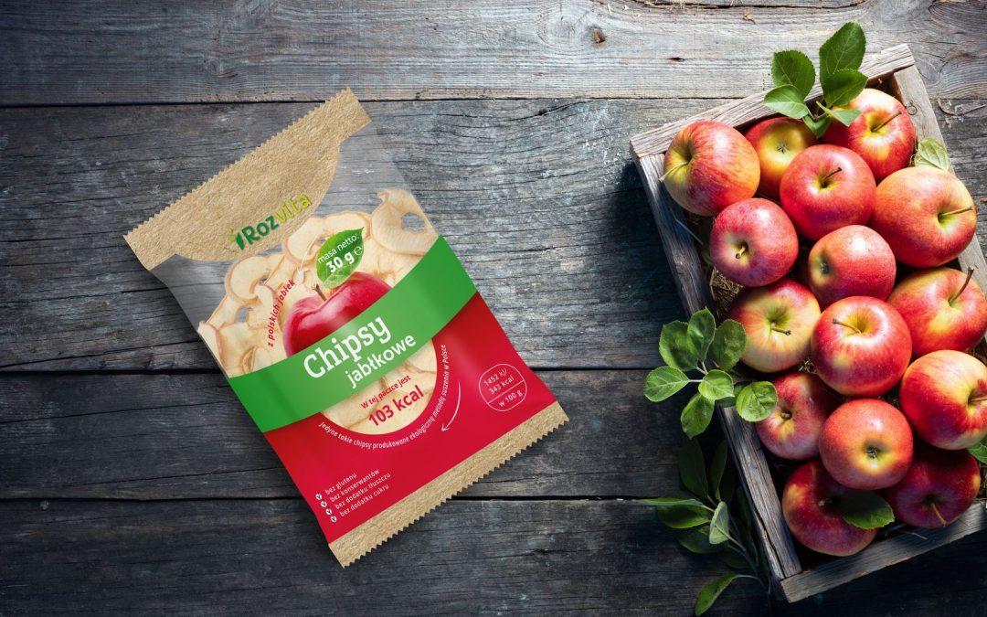 Chipsy jabłkowe Rozvita