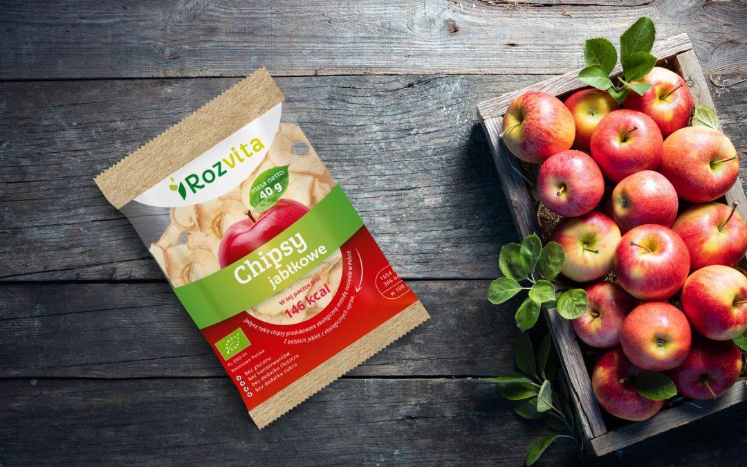 EKO chipsy jabłkowe- NOWOŚĆ